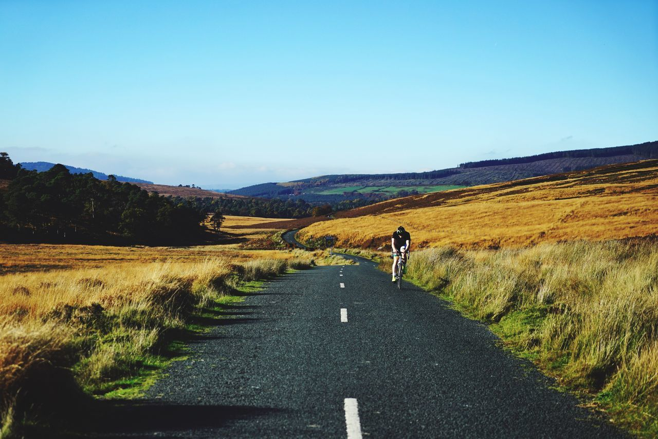 Beautiful stock photos of dublin, Beauty In Nature, Bicycle, Clear Sky, Copy Space