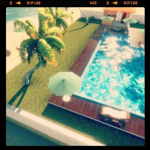 Maquete virtual Revit  Lumion PROJETO casa de praia by @suxav_ BoaNoite