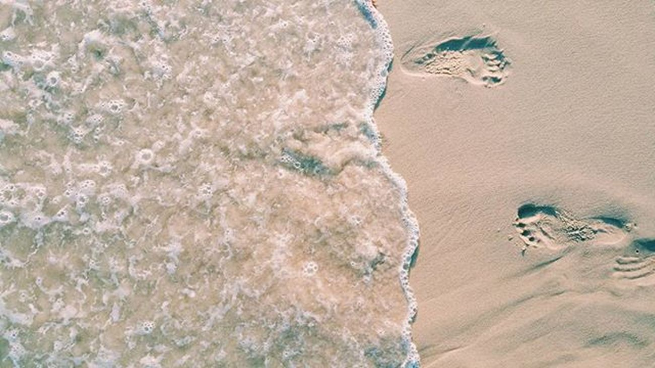 Photography Summer Beachlife FootPrint Longisland Realitydefied
