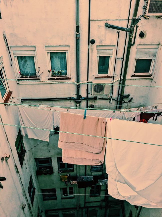 Clothes Building Vintage Neighborhood