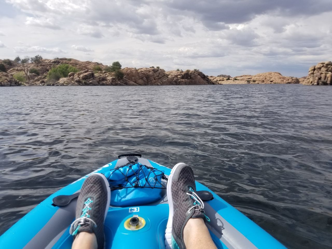Kayaking Water Surface Lake On The Water Fun Exercise Relaxing Time Inflatables Awesome Day ❤️ Cloud - Sky Nautical Vessel Outdoors Adult Shoe Personal Perspective Human Leg Rocky Shore