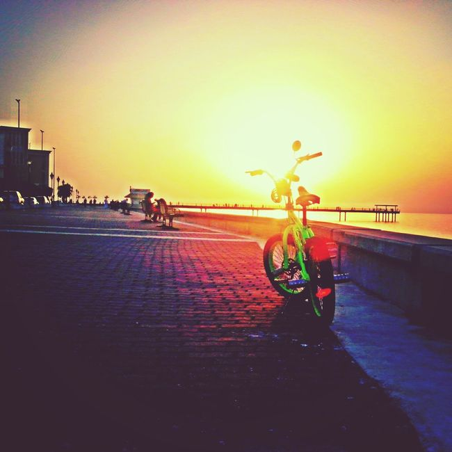 And we'll ride towards the sunset...