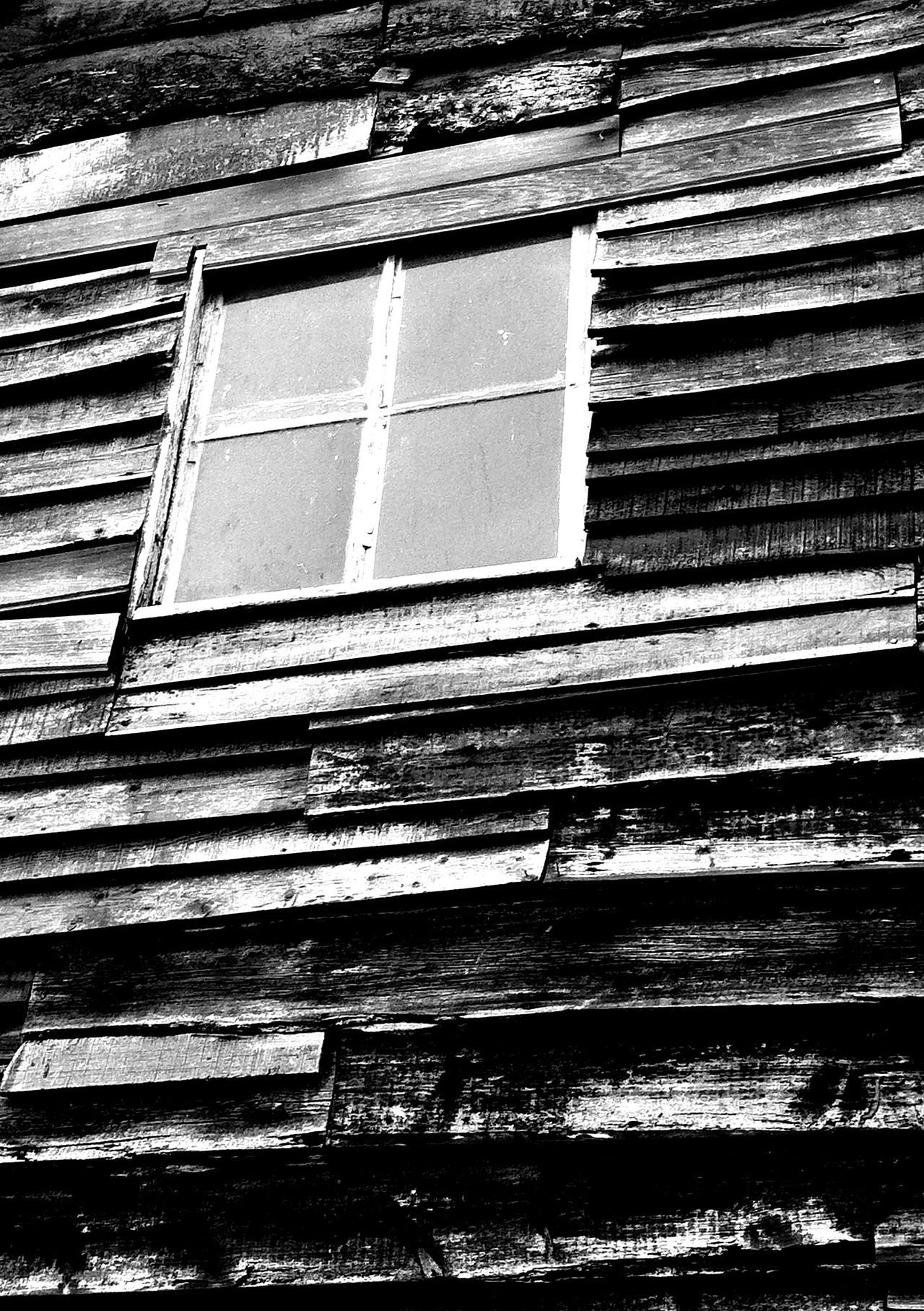 Clad In Wood Damaged Old Plank Weathered Wood - Material