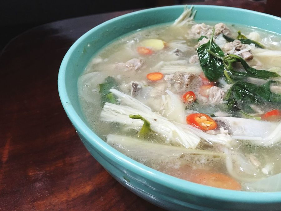 Tomyum Hot And Sour Soup Seafoods Thailand Tom Yam Local Food Thai Cuisine