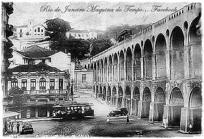 Lapa Rj Architecture History Old Times Rio De Janeiro Lifestyles Brazil 1900.....