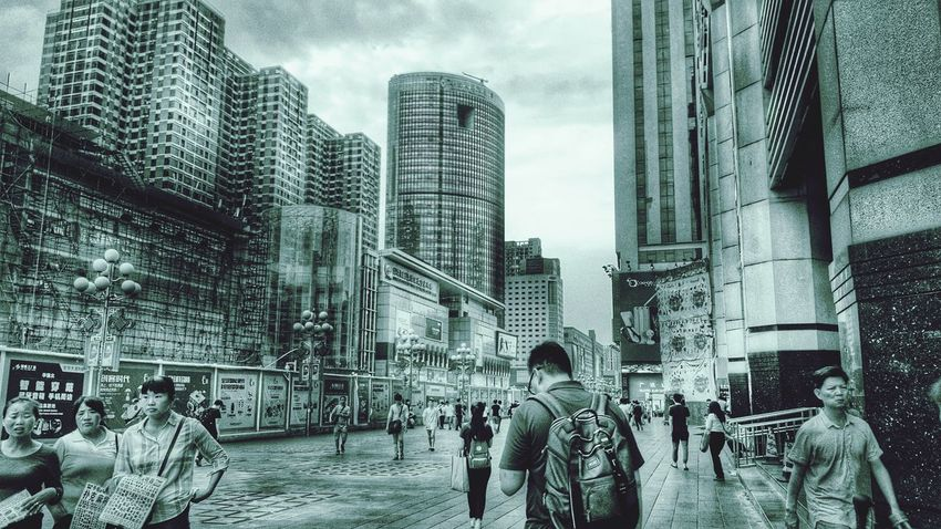 Taking Photos Steetphotography Black And White Monochrome Dystopian Dystopia China Blackandwhite EyeEm Best Shots Streetphotography EyeEm Best Edits Street Photography