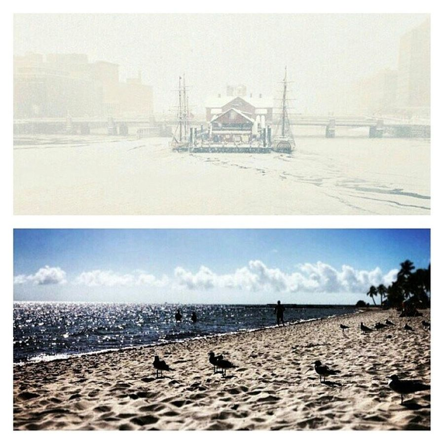 Boston received 10+ inches yesterday; Keywest did not. Glad I'm not in Beantown right now! OhWaiter snowpocolypse2014 -Casey