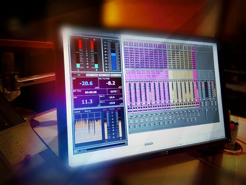 Audio Studio Mixing Sound Isibaya