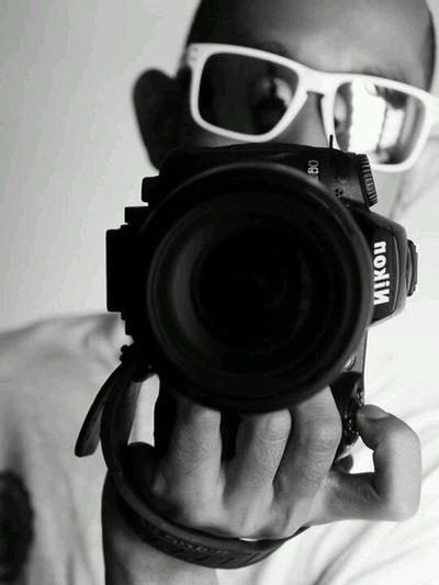 Self Portrait Selfie Portrait Monochrome Blackandwhite Reverse Image Looking At Camera Looking At Things