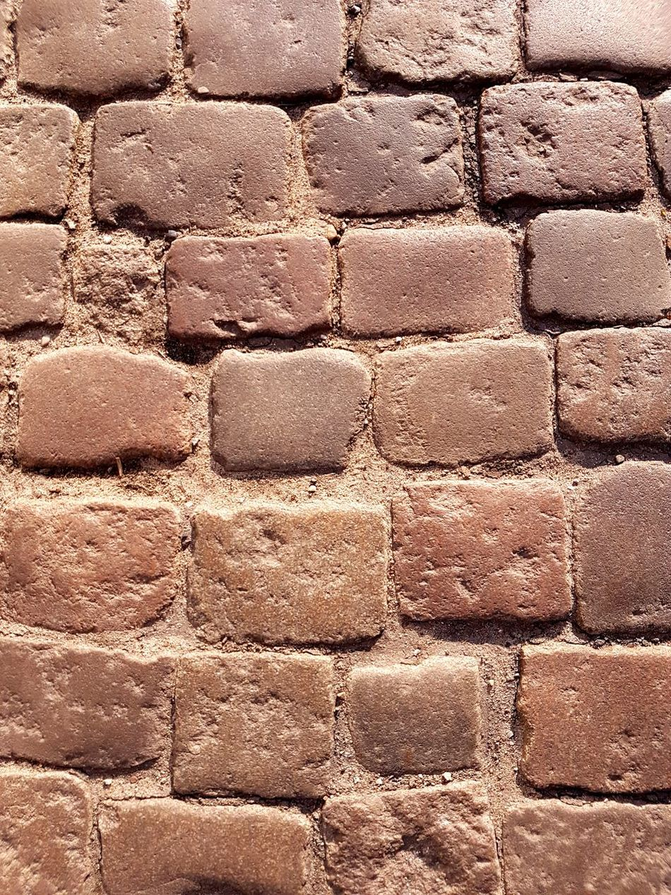 Backgrounds Full Frame Pattern Textured  Day Close-up Outdoors Cobblestone Bydgoszcz Poland