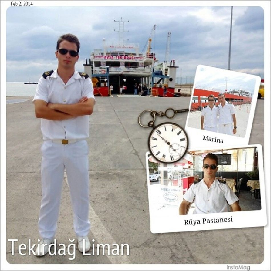 Tekirdağ Liman Job Denizcilik white shipping port
