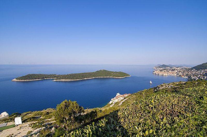 The view of Lokrum Island | Dubrovnik, Croatia Croatia Travel Dubrovnik Lokrum
