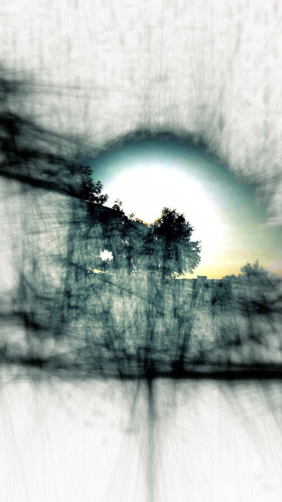 Creative Edit Polar, Blue Light Abstract Nature Ethereal