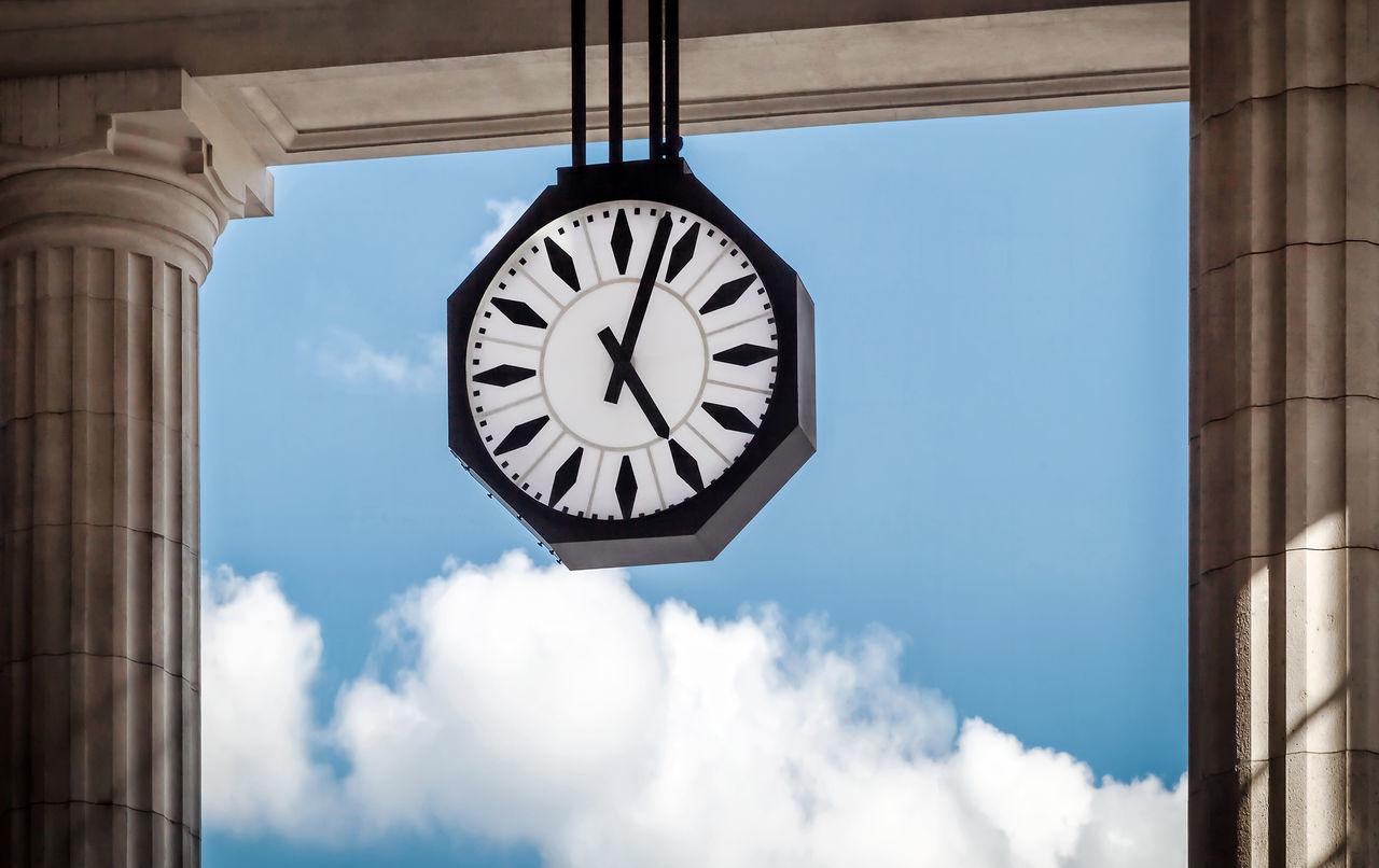Beautiful stock photos of milan, Accuracy, Architectural Column, Clock, Cloud - Sky