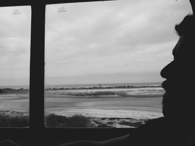 train ride Adventure Beach Black And White Coast Day Fun Leisure Activity Lifestyles Moving Nature Ocean View Sea And Sky Rowing Paddle Sea Silhouette Sky Train Train Ride Travel Trip Unrecognizable Person Vacation Viewpoint Waves West Coast Window