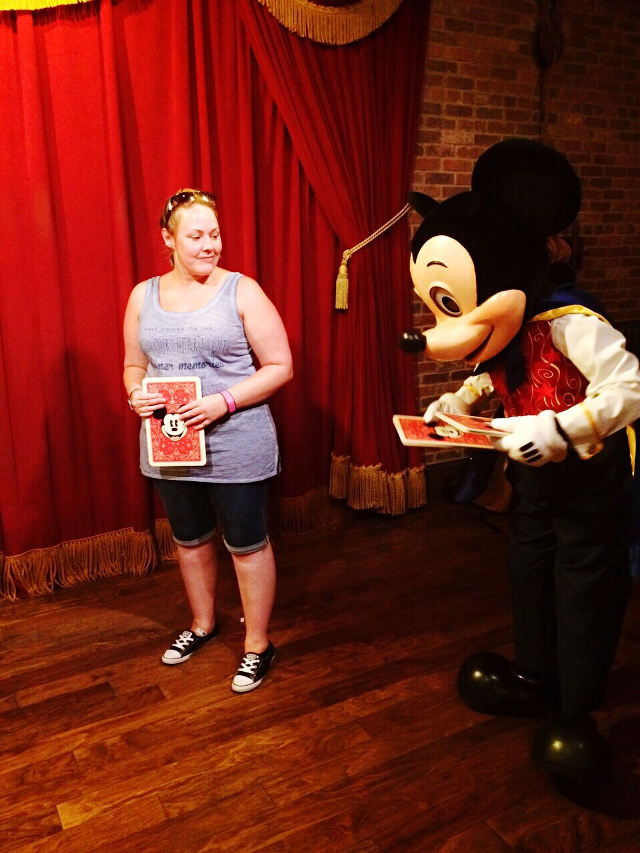 Magic Card Tricks Mickey Mouse Magician