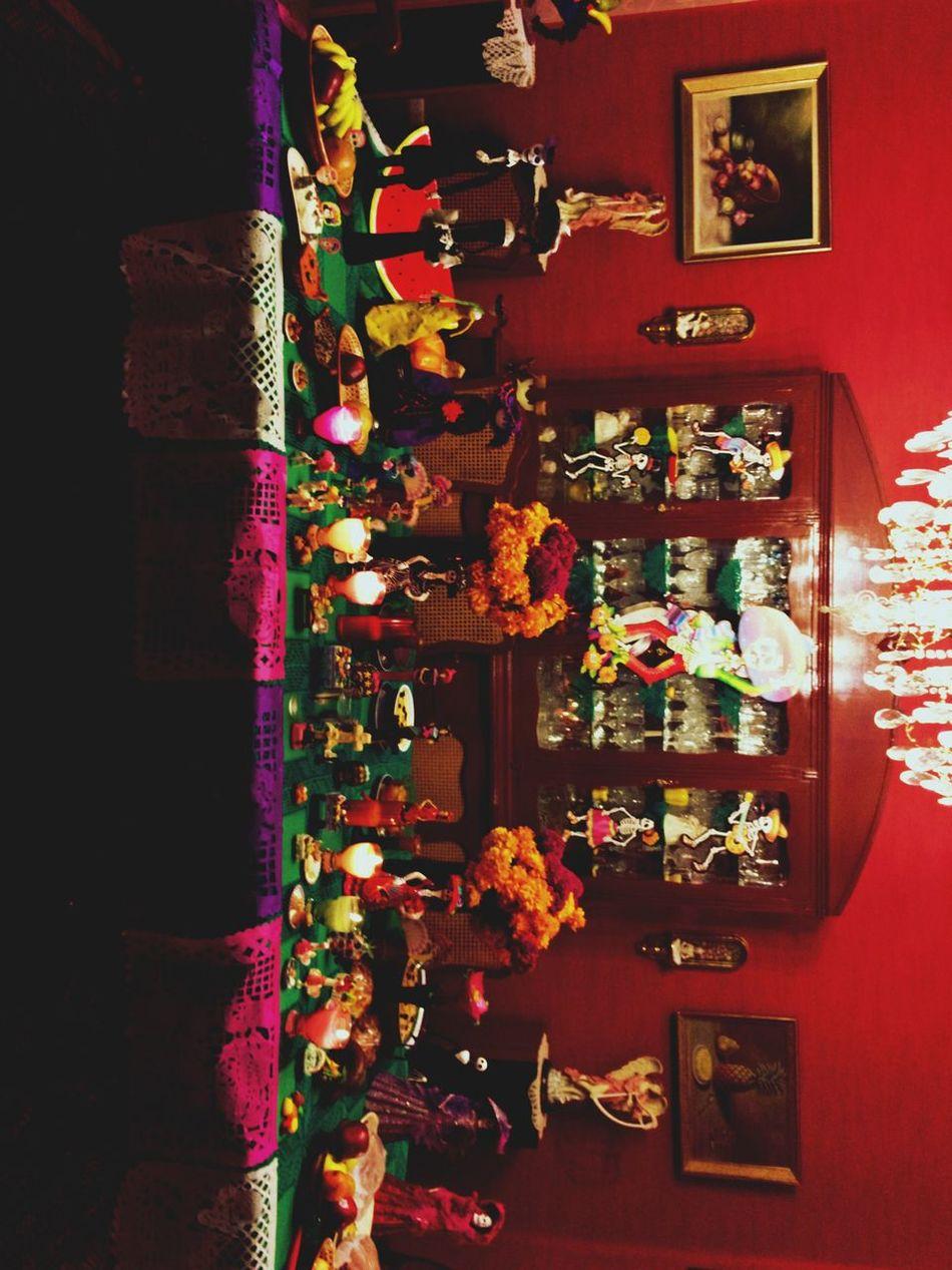 Ofrenda Flower No People Indoors  Night Illuminated Dramatic Angles AllSaintsDay