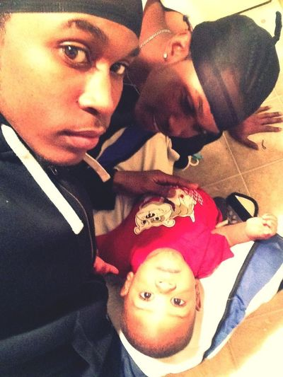 Me Nd My Bruh Nd Our Lil Youngin