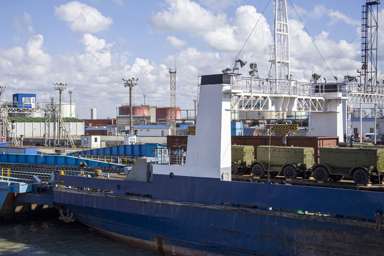 Cargo Ship Cloud Cloudy Commercial Dock Development Dock Freight Transportation Harbor Loading Dock Logistics Mode Of Transport Nautical Vessel Outdoors Ship Shipping  Shipping Docks Transportation