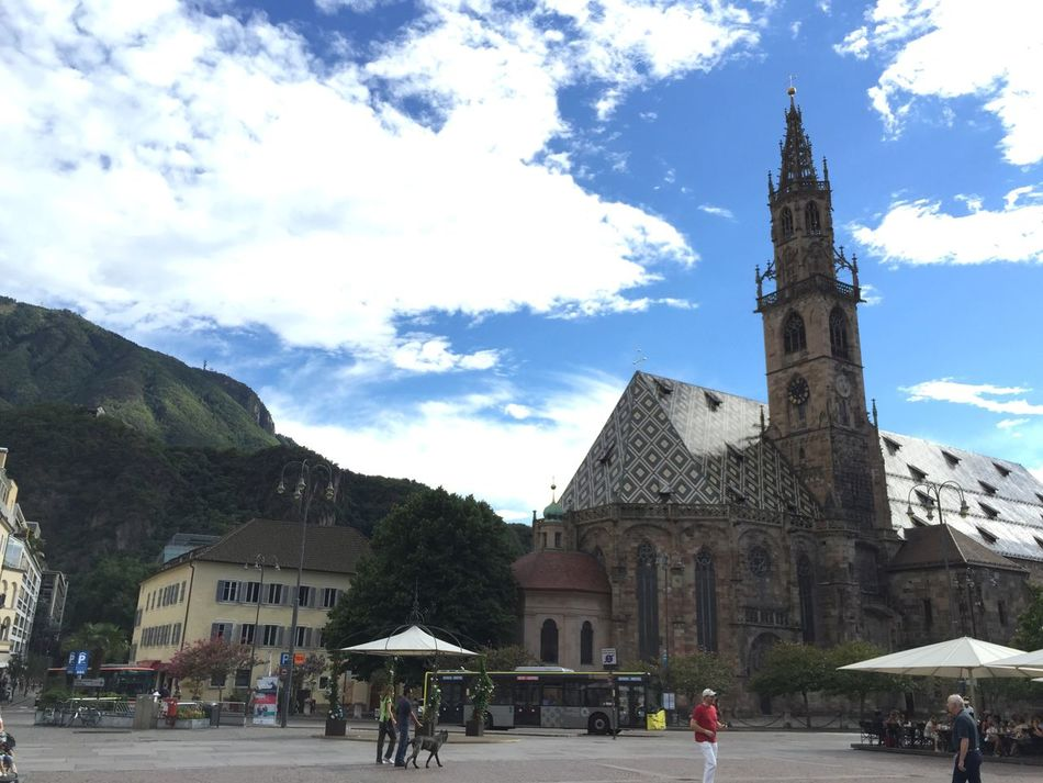 At Bolzano | Bozen Mountains Clouds And Sky