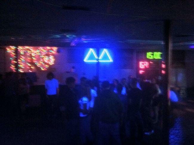 Partying at Pi Kappa Phi Partying