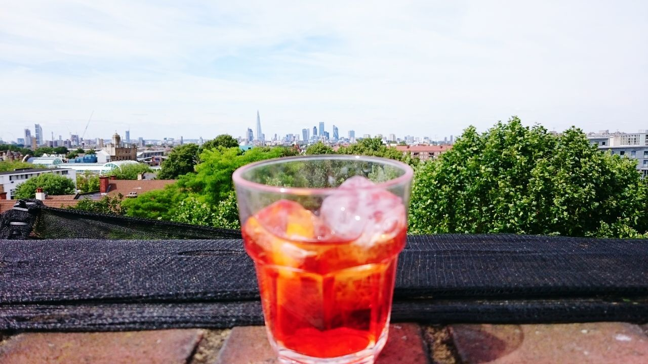 London Skyline campari Campari Parking Rooftop