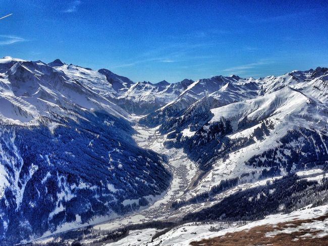 Alpine panorama, view to Lanersbach/Zillertal and Hintertuxer glacier Taking Photos IPhoneography EyeEm Best Shots Mountains