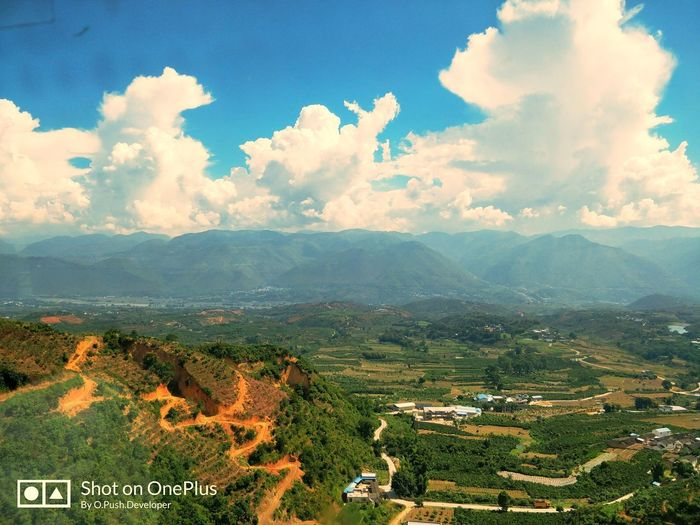 Cloud - Sky Landscape Sky Outdoors Nature Agriculture Scenics Day Mountain Tree Rural Scene No People Beauty In Nature
