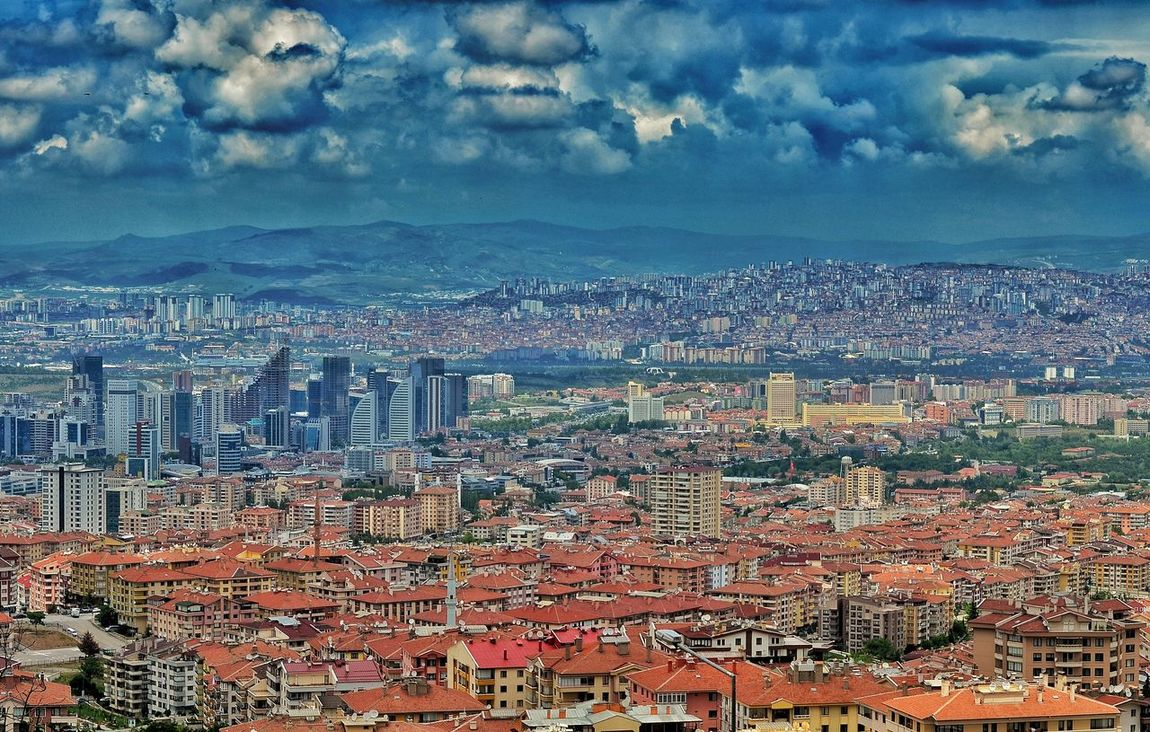 Cloud - Sky Sky Cityscape Full Frame Backgrounds No People Aerial View Outdoors Day Scenics Nature City Multi Colored Architecture Building Exterior Close-up Pixelated Dikmen Ankara Cankaya Manzara Nature Streetphotography Flower Red