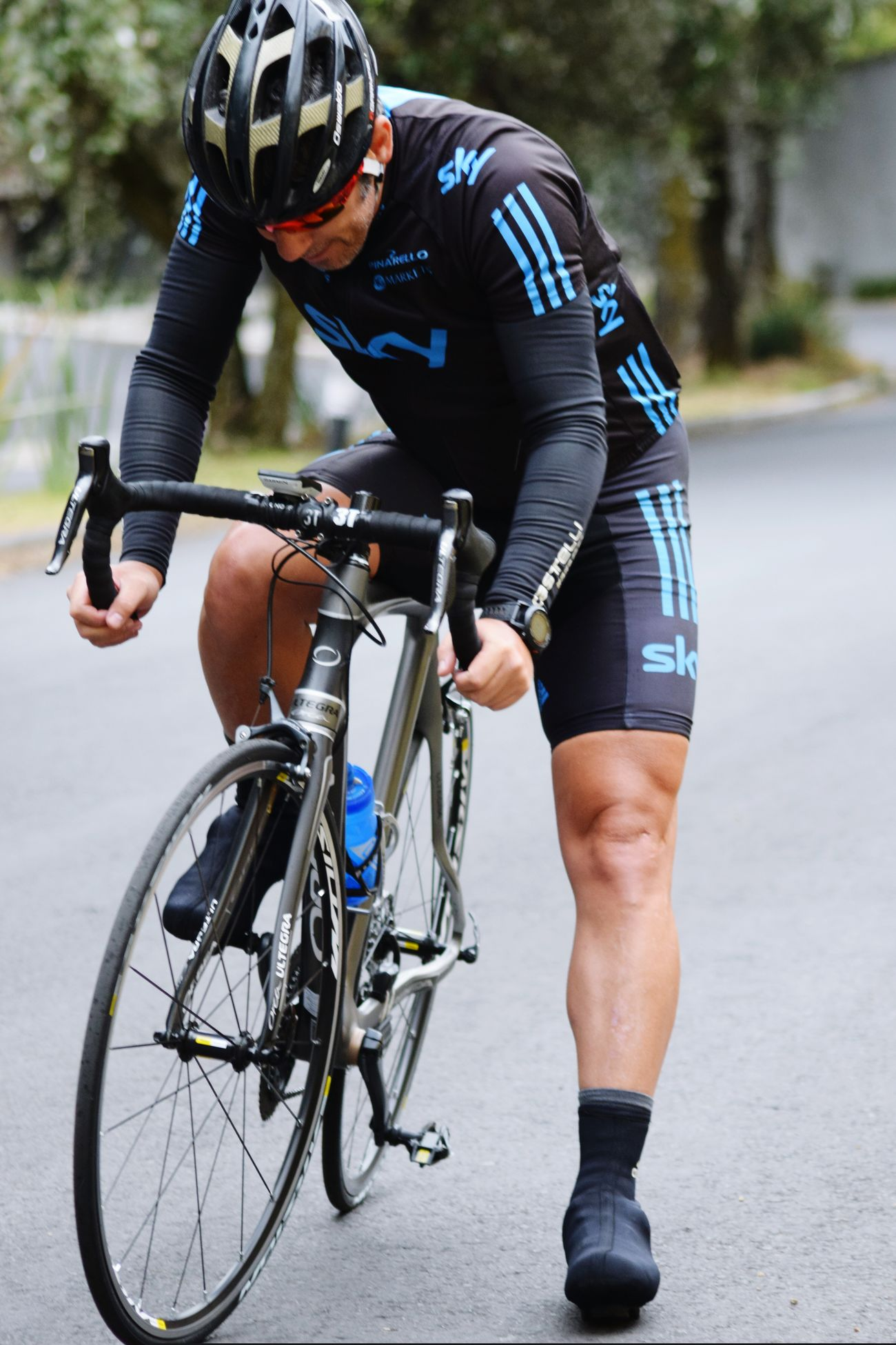 Excercising Obssesions Legs Garmin Cycling Orbea