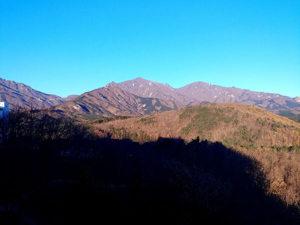 Mountain No People Landscape Outdoors Nature Clear Sky Scenics Sky Day Beauty In Nature Tree