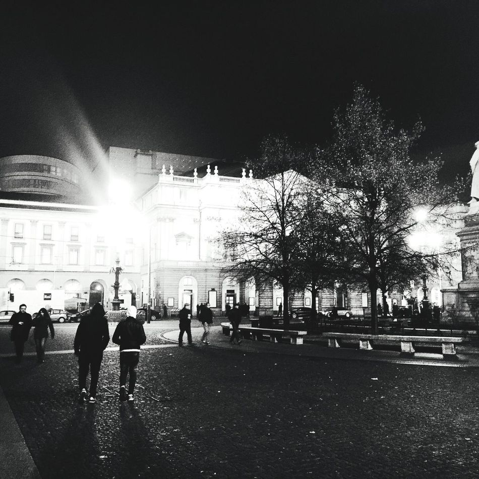 Milano piazza della scala Milan Scalamilano Piazza Scala Nightphotography Night Photography