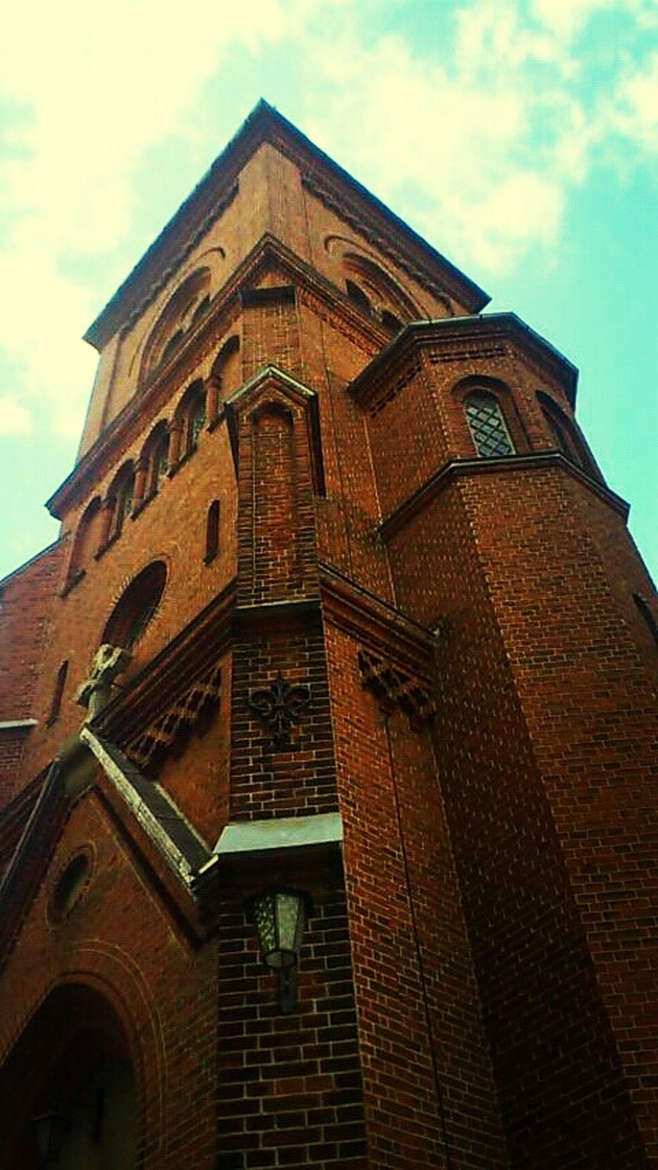 Church Going To Church  Before Church Wooww...... So Beautiful *^-^*