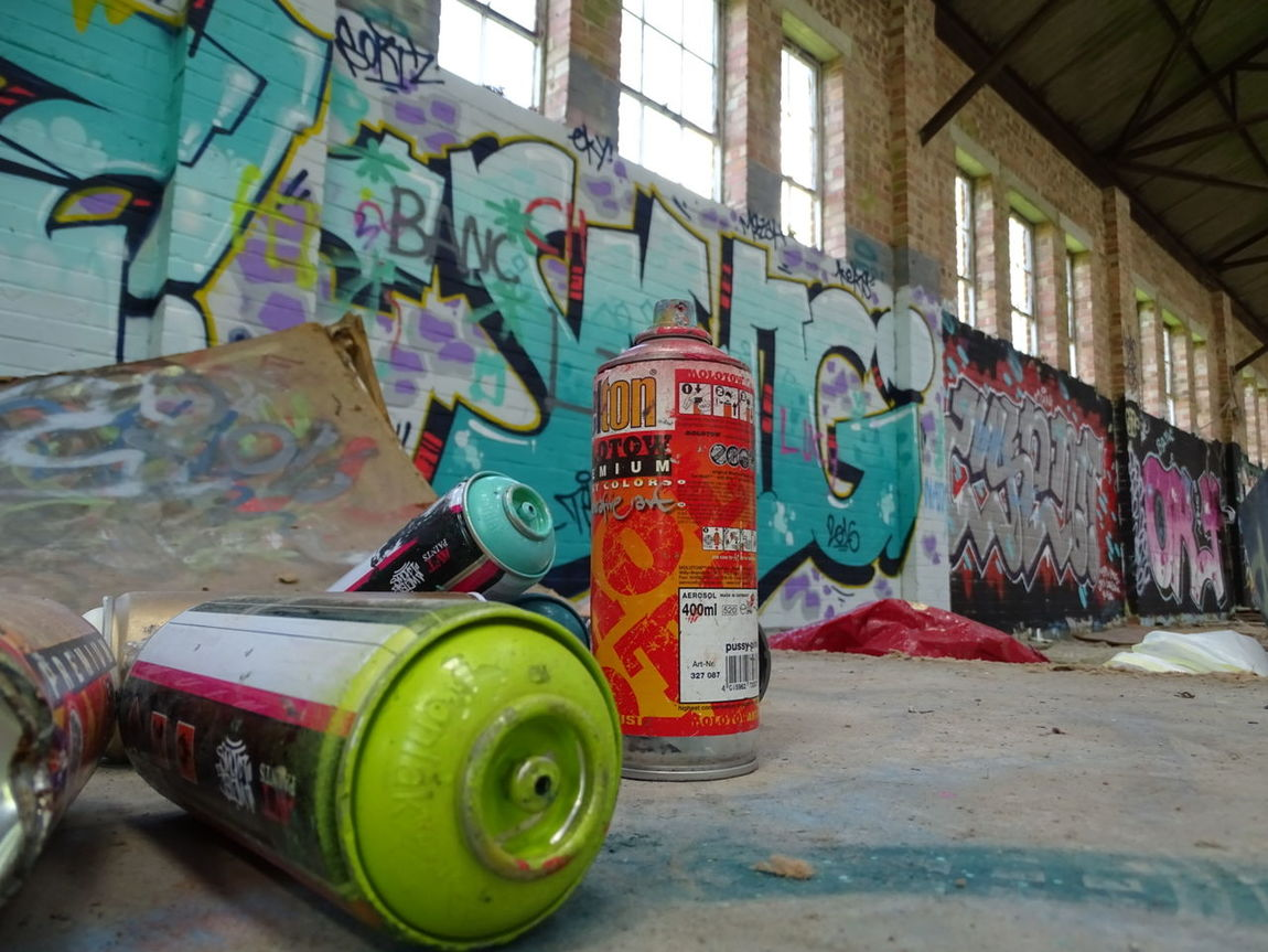 Spraypaint Graffiti Hidden Places Abandoned Spray Cans Finishedwork New Market Eyeem Market EyeEm Gallery