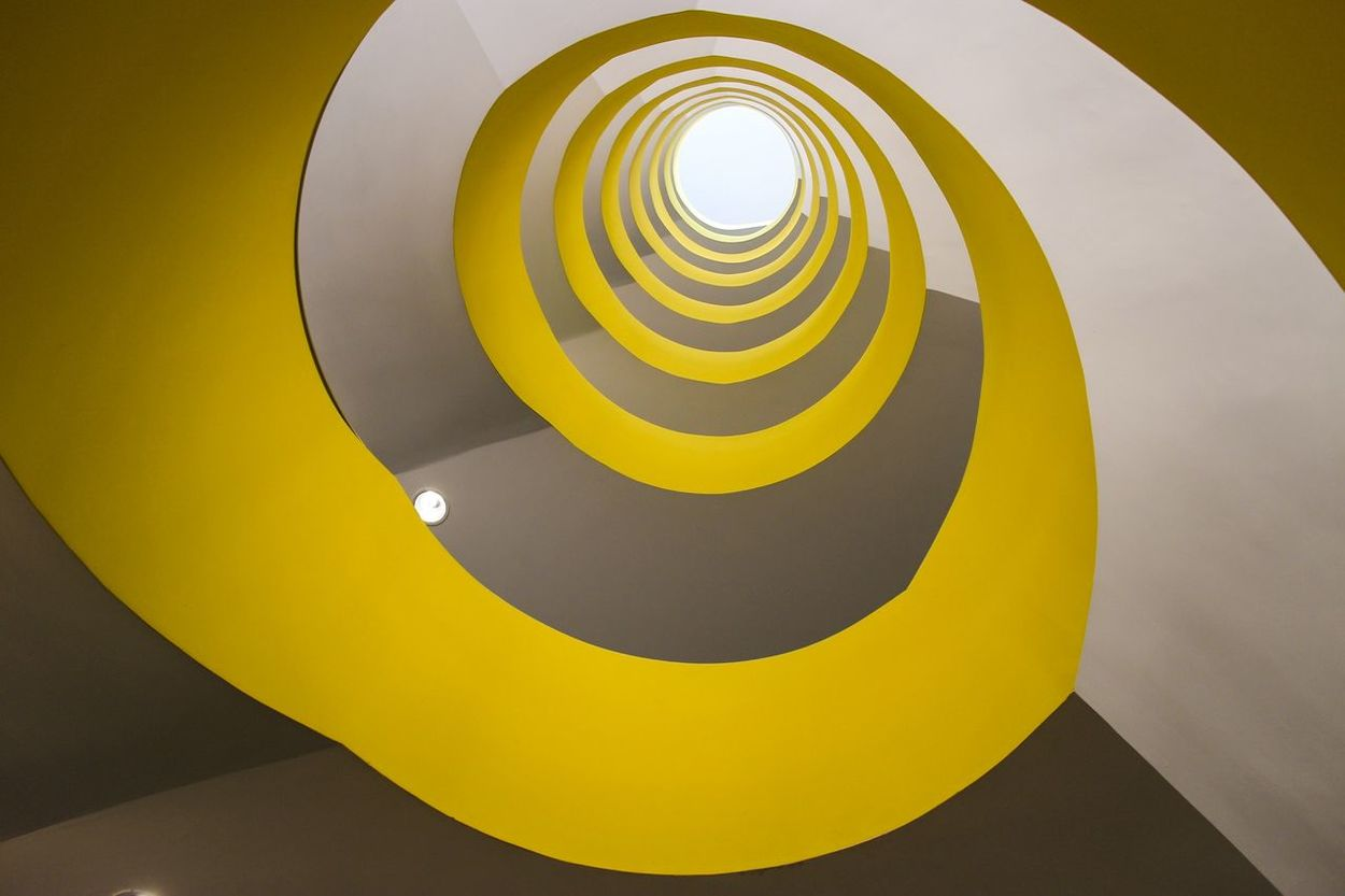 My Best Photo 2014 EyeEm Best Shots Architecture Stairways Urban Geometry Yellow telescope... Looking Into The Future Endlessness Lemon By Motorola The Architect - 2015 EyeEm Awards Capturing Movement Your Design Story Color Palette Paint The Town Yellow