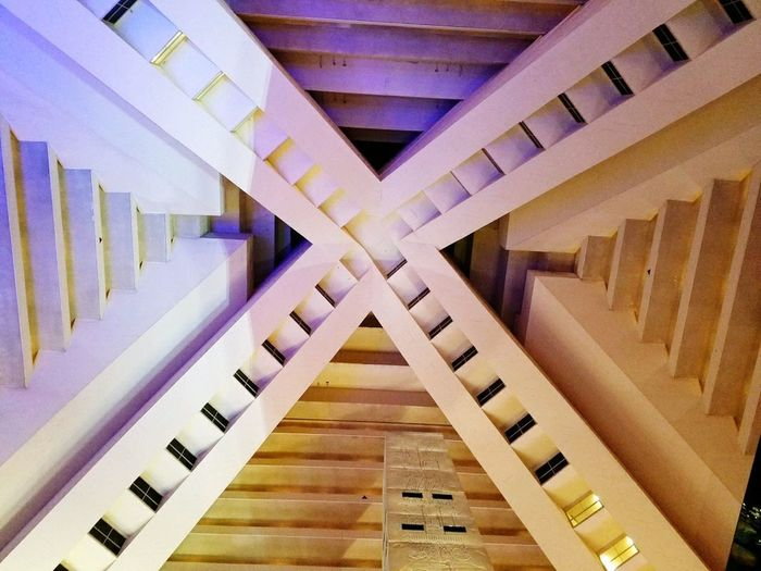 Built Structure Indoors  Pyramid Hotel Amazing Pyramid Structure The Architect - 2017 EyeEm Awards