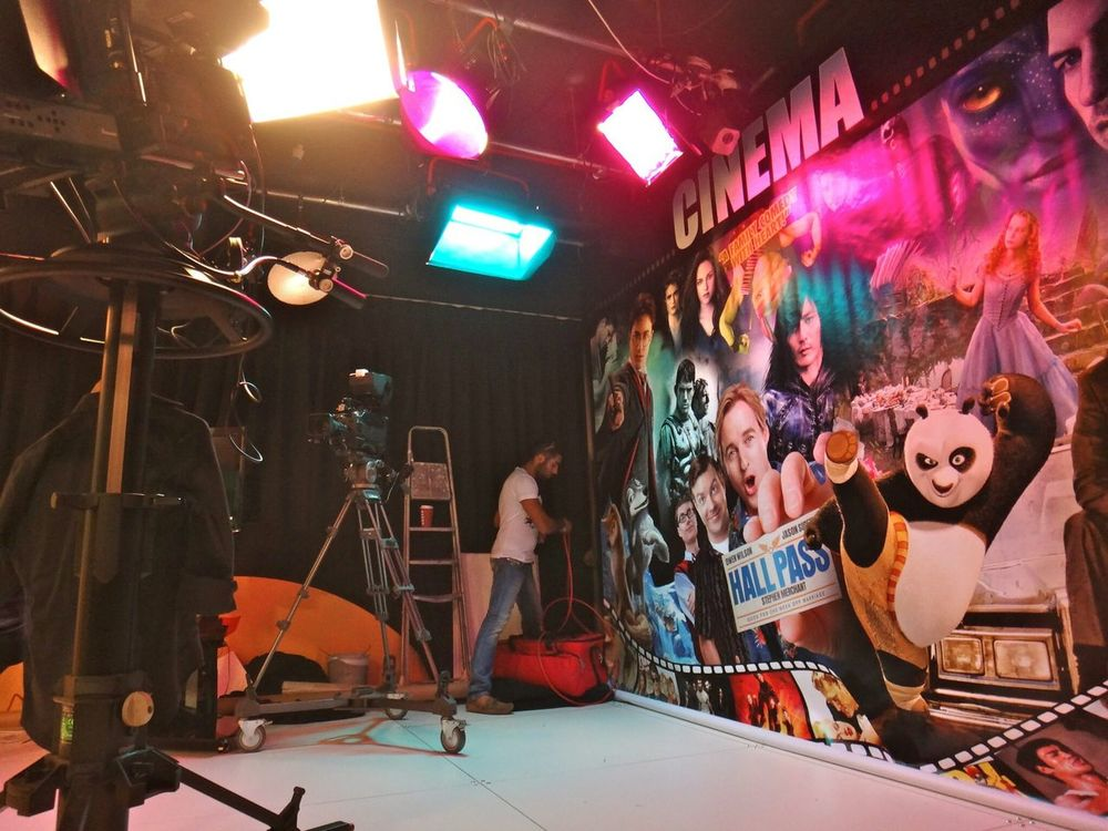 Show Must Go On On Set Shooting
