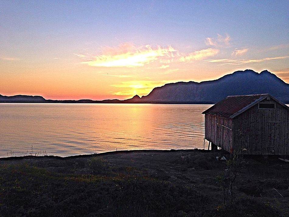 Just missed the midnight sun Sky_collection Enjoying The Sights Landscape Ocean