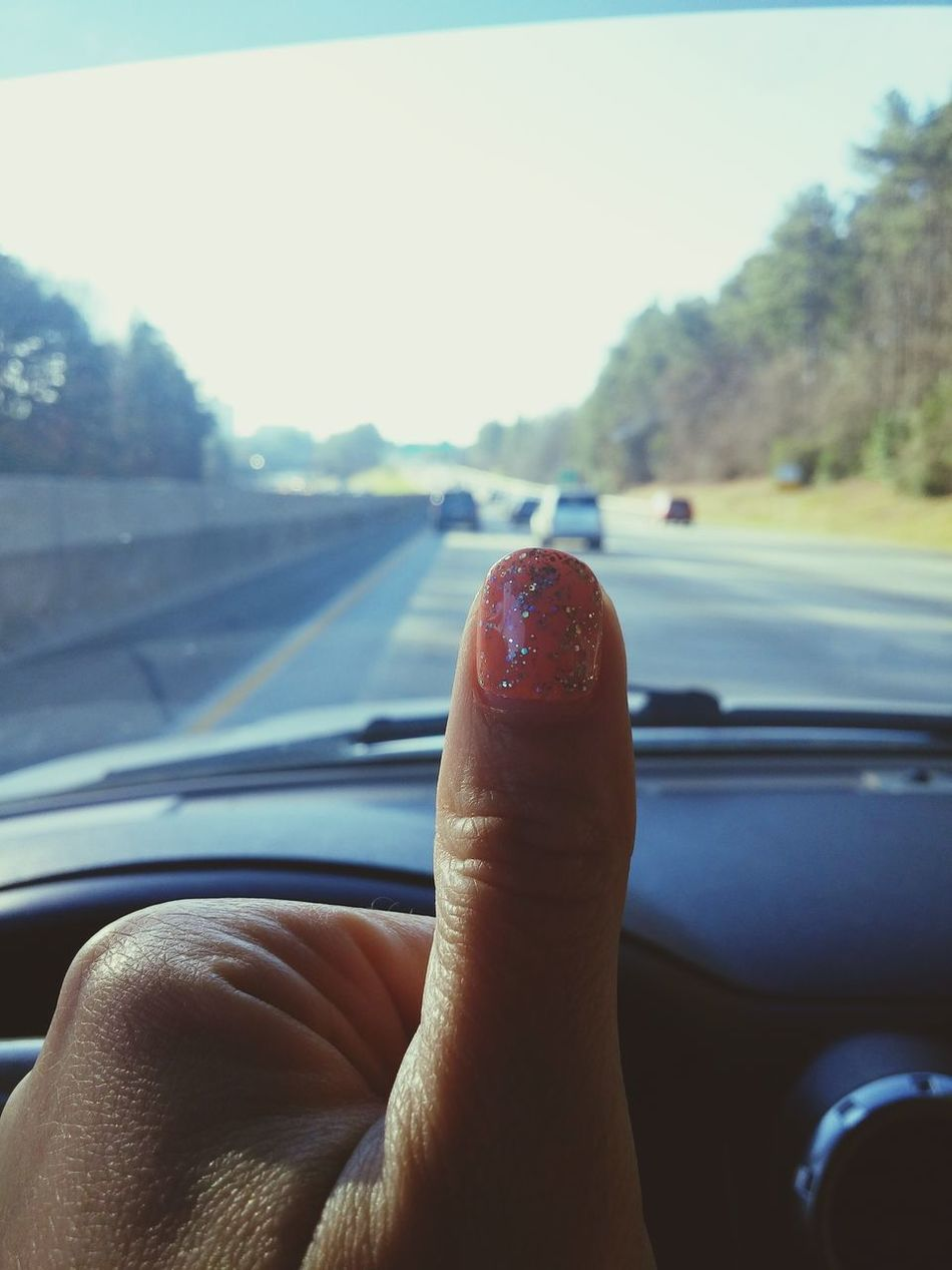 Up Close Street Photography Showing Imperfection Hanging Out Taking Photos Check This Out Hello World Enjoying Life Fun Photo Of The Day This Week On Eyeem Trying New Things Thumbs Up Freeway Highway Road Diaries Speed Limit Driving Feel The Journey