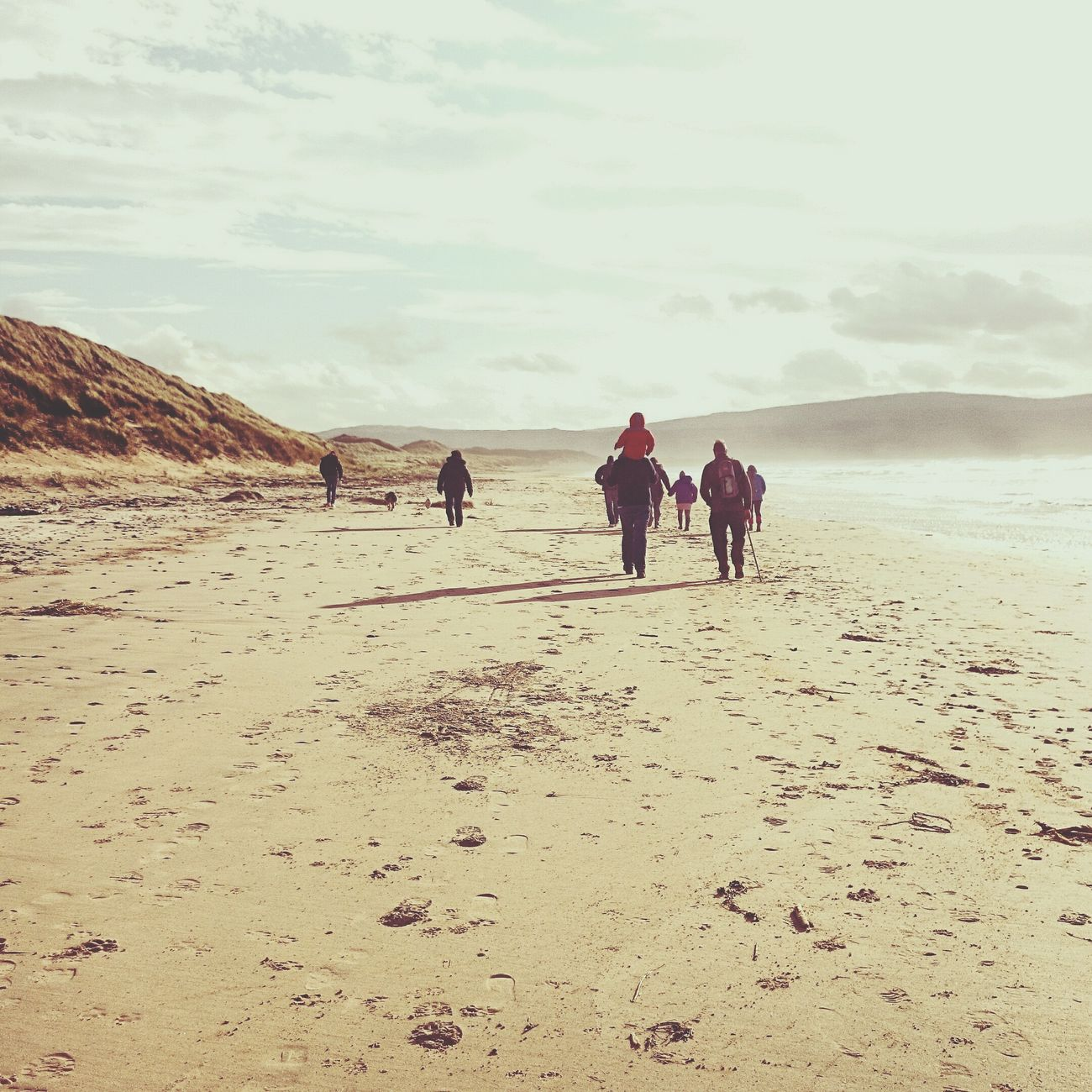 Family Beach Love Scotland