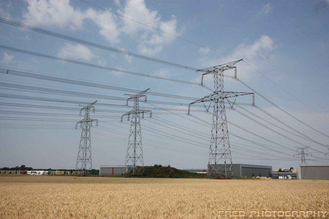 Pylons Power Lines Pylonporn Powerlines