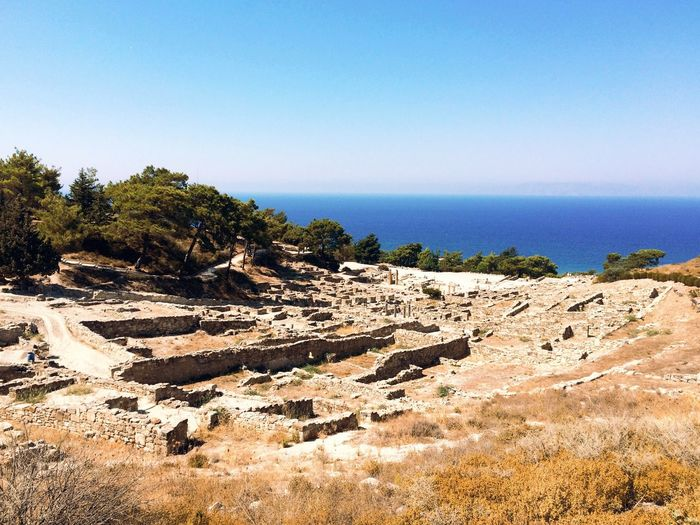 Overlooking an ancient civilisation. IPhoneography Traveling Architecture View Landscape Summer Eye Em Around The World Ancient Architecture Taking Photos Enjoying Life