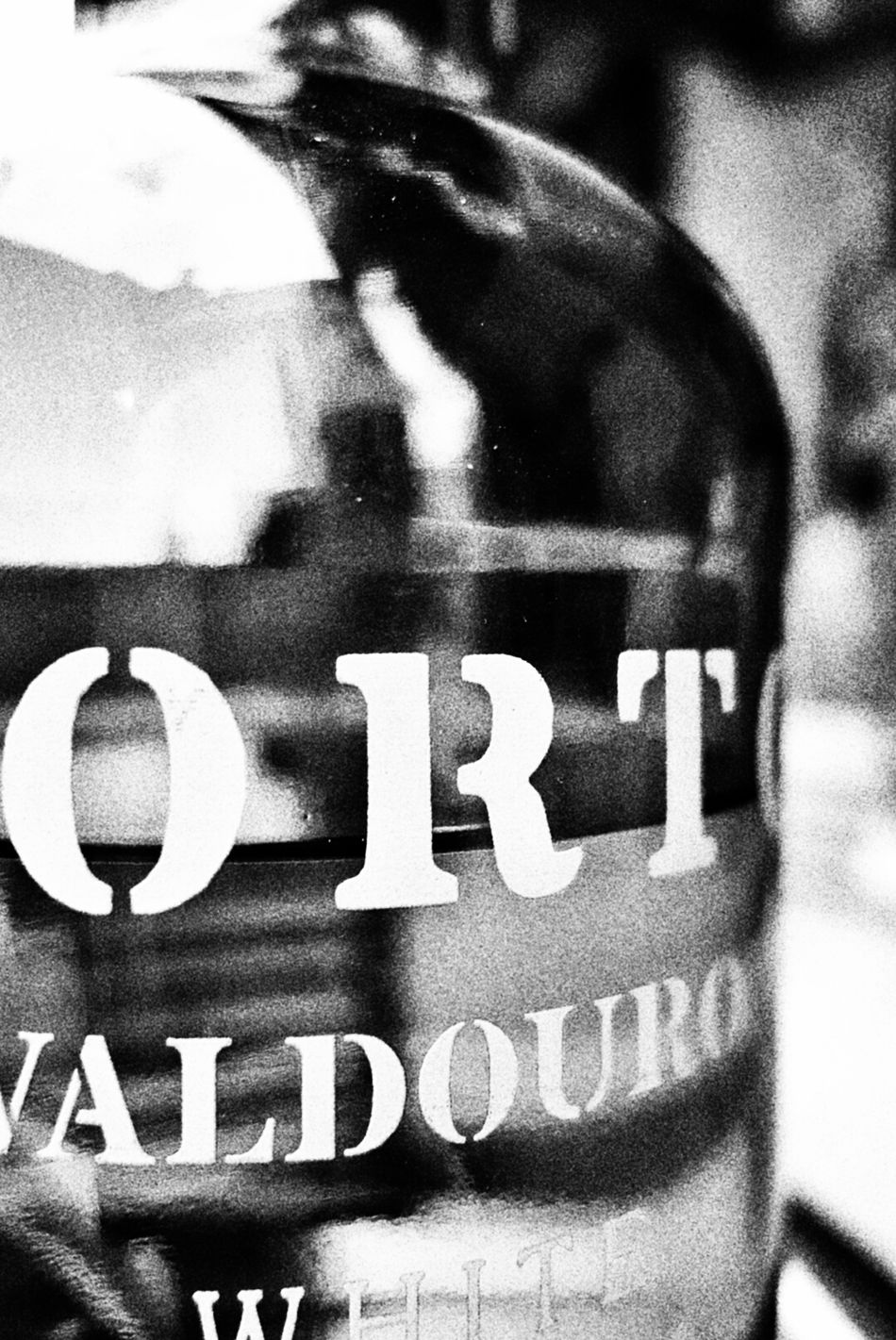 Black Bottle Porto Valdouro Vine