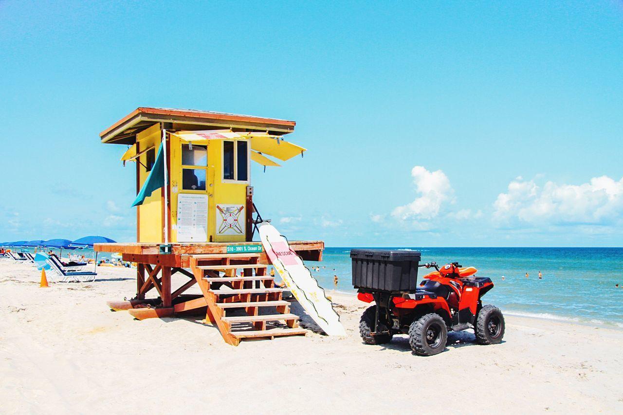 Beautiful stock photos of sicherheit, sea, sky, outdoors, lifeguard hut