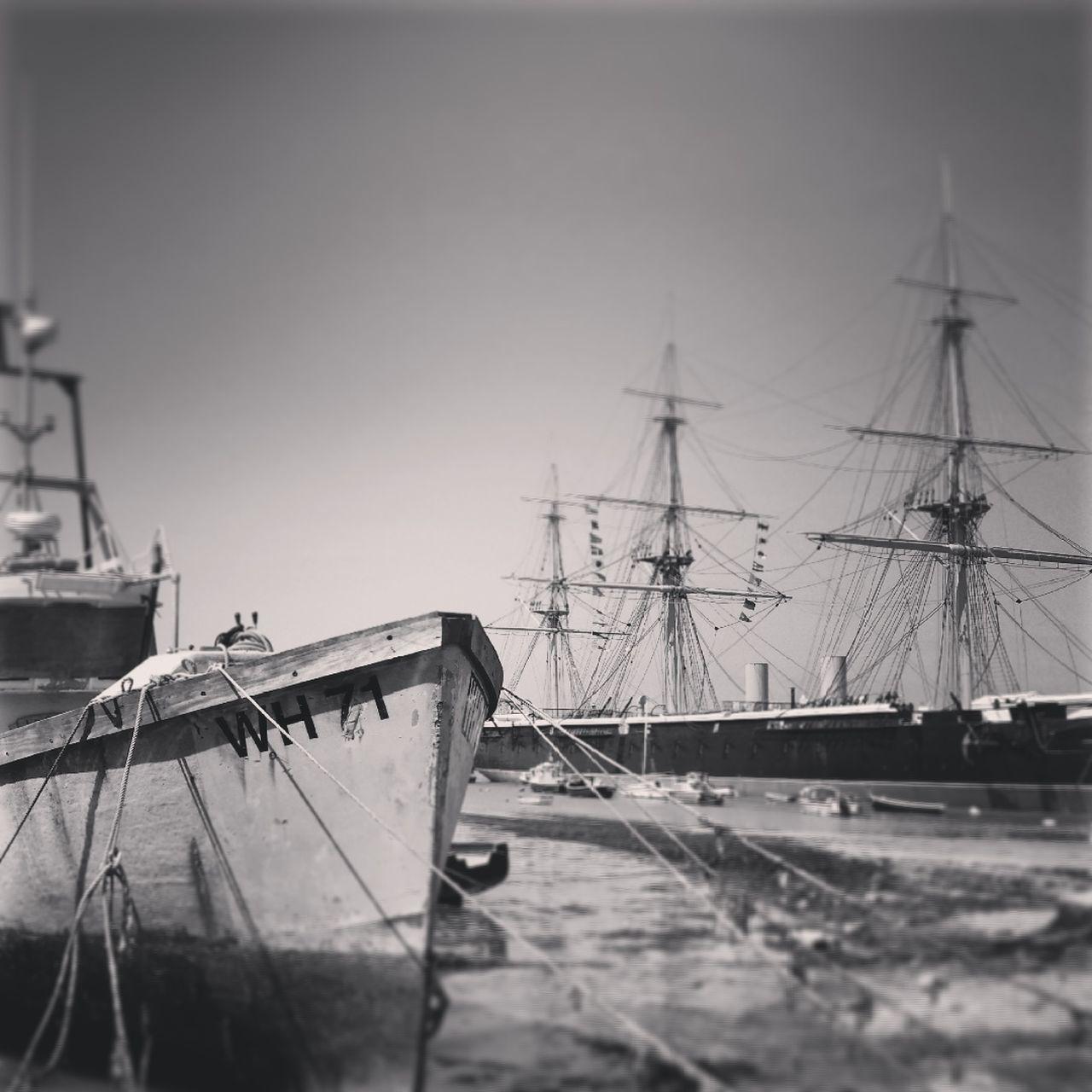 Close-Up Of Nautical Vessel