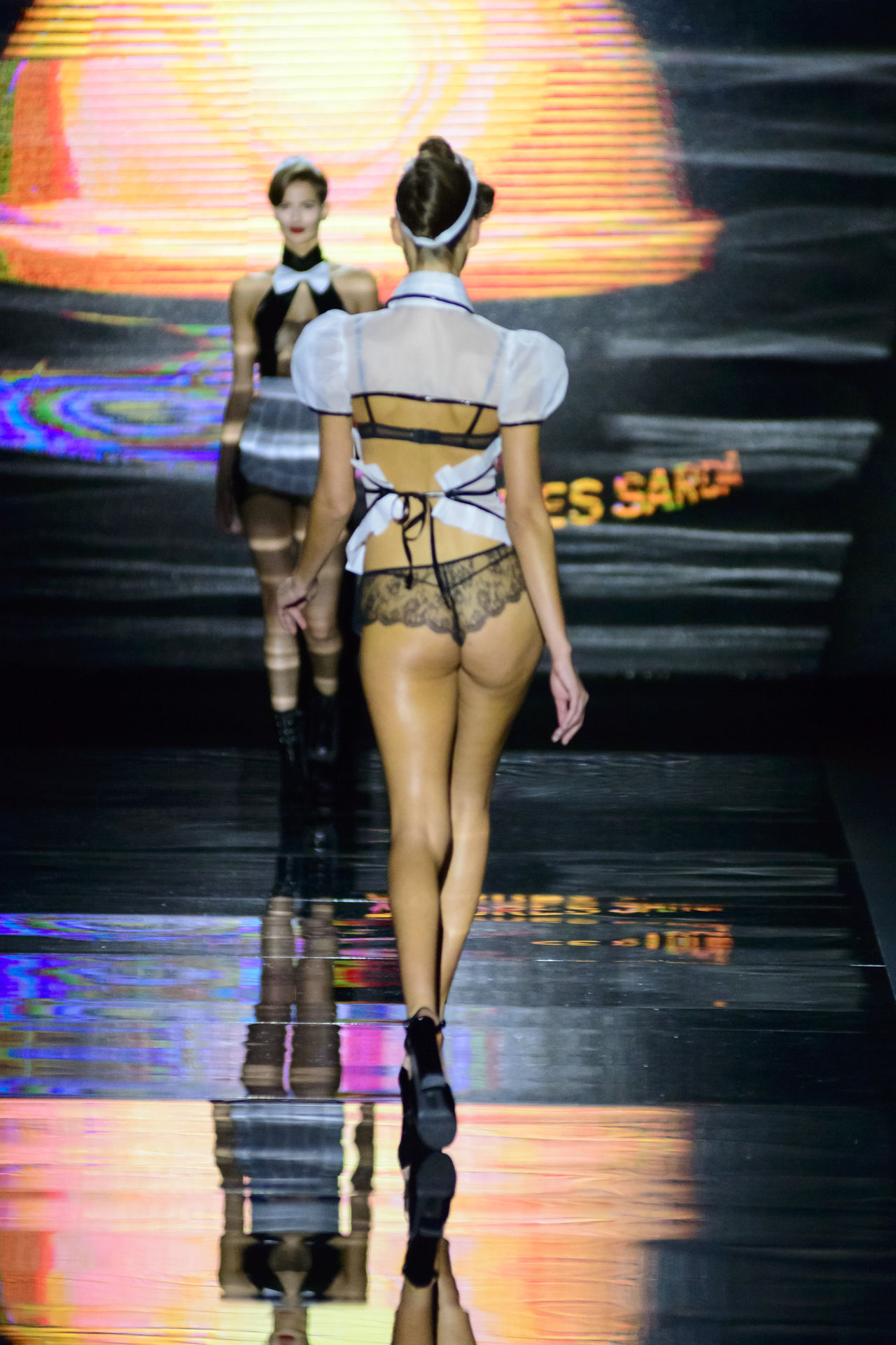 Andres Sarda during Mercedes Benz Fashion Week Autumn-Winter 2016 in Madrid. Catwalk Clothes Depth Of Field Editorial  Editorial Fashion Fashion Fashion Fashion Week Full Length Mbfw Mbfw2016 Mbfwmadrid Mercedes Benz Fashion Week Model Occupation Person Real People Standing Women Young Adult Young Women