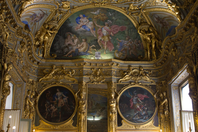Architecture ArtWork Fresco Human Representation Indoors  Place Of Worship Religion Spirituality