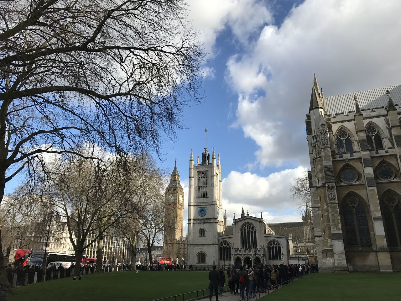 Architecture Building Exterior Built Structure City Cultures Day Large Group Of People London Outdoors People Place Of Worship Religion Sky Statue Travel Destinations Tree Uk Westminster Abbey