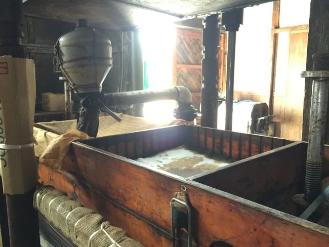 Nara,Japan 醤油蔵 醤油蔵に見学にいく。