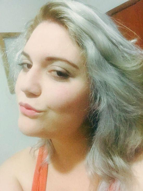 ThatsMe Gray Hair New Look ! Selfportrait